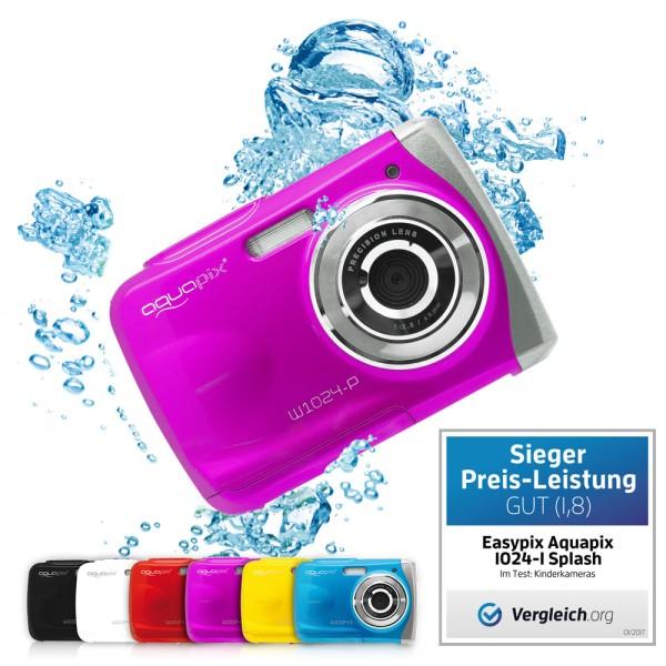 """Aquapix W1024-P """"Splash"""" Pink gebraucht-wie neu"""