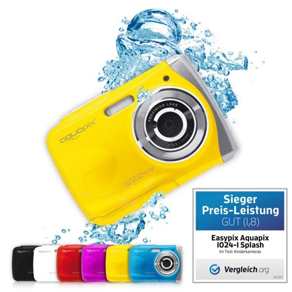 """Aquapix W1024-Y """"Splash"""" Yellow gebraucht-wie neu"""