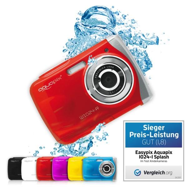 """Aquapix W1024-R """"Splash"""" Red"""