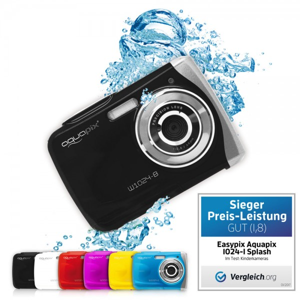 "Aquapix W1024-B ""Splash"" Black"